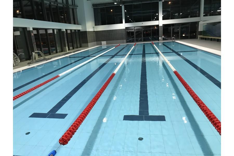Pályaelválasztó kötél 33m-es medencéhez (150 mm-es)