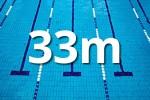 33 m-es medence